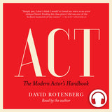 Act audiobook by David Rotenberg, ECW Press
