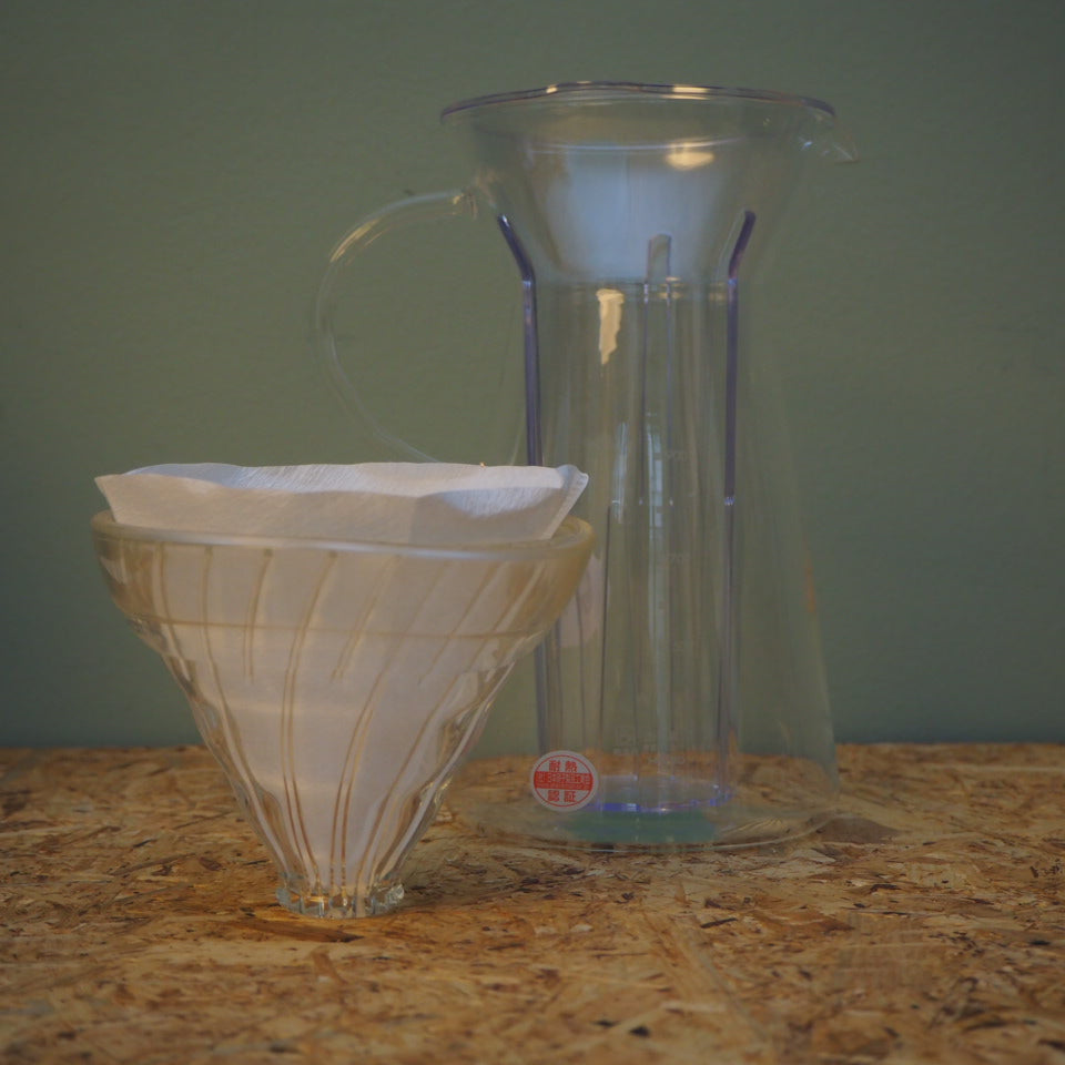 V60 Glas Iced Coffee Maker - KOFFEINSHOP