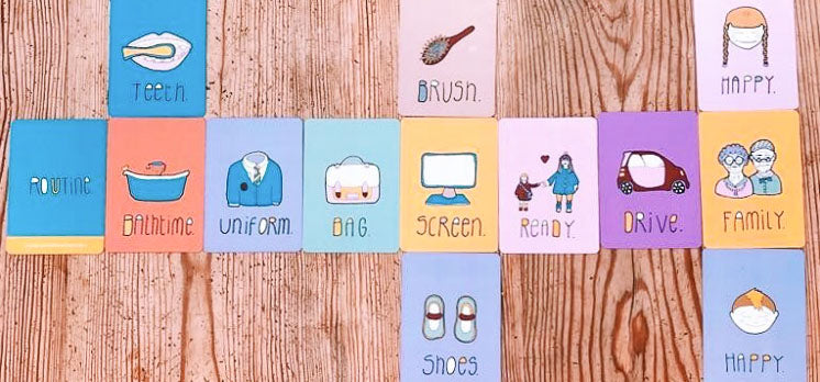 Routine For Kids Cards