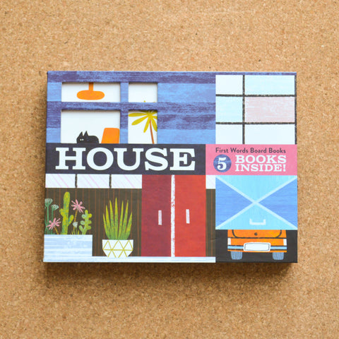 House: First Word Board Books