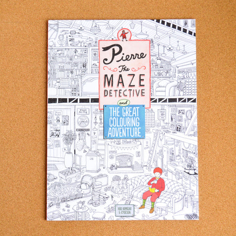Pierre the Maze Detective and the Great Colouring Adventure