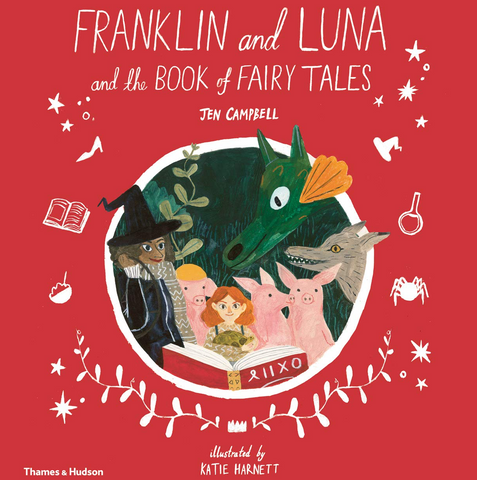 Reading and Craft Session Franklin and Luna and the Book of Fairy Tales