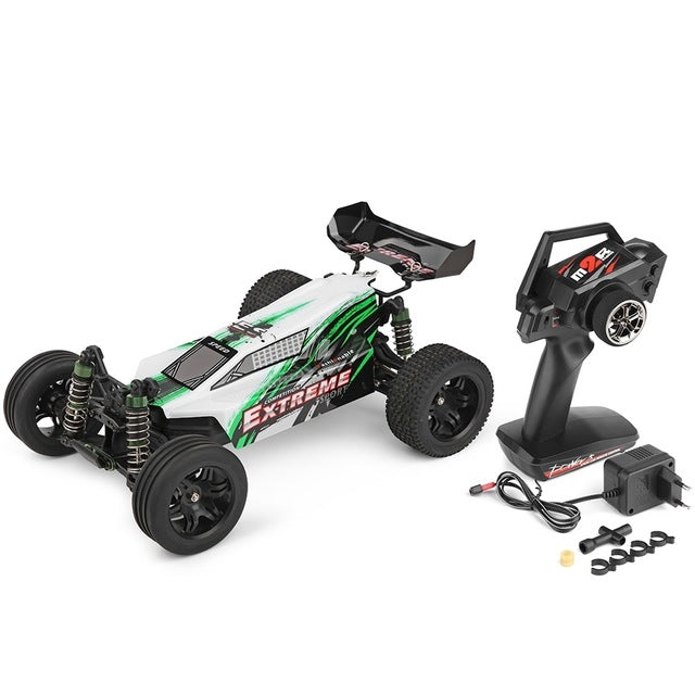 WLTOYS A303 1:12 Scale 2.4G 2WD 35km/h High power 390 motor Rechargeable Shockproof RC Off-road Electric Car RTR