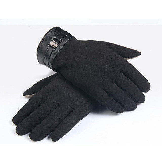 JECKSION winter gloves men With Full Finger Smartphone   Screen Cashmere Gloves 2016 New #LYW