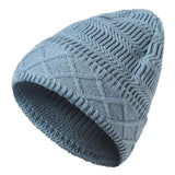 Fashion New Winter Hat Men Women Baggy Warm Winter Wool Knit Ski Beanie Caps Hat touca inverno