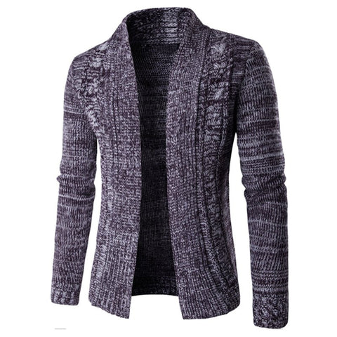 Winter Brand Shawl Collar Sweater