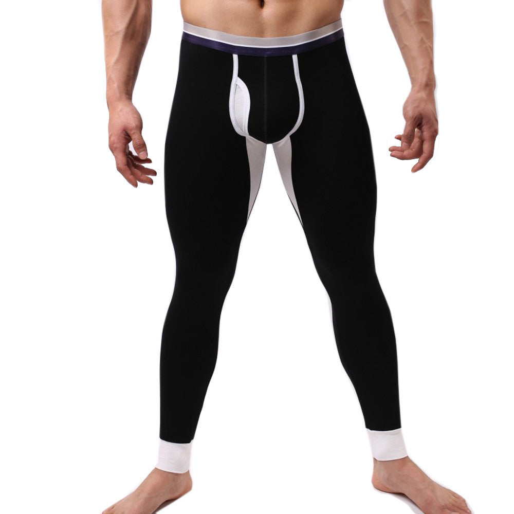 Winter Men Modal Long Johns Thermal Tight Pant Underwear Leggings