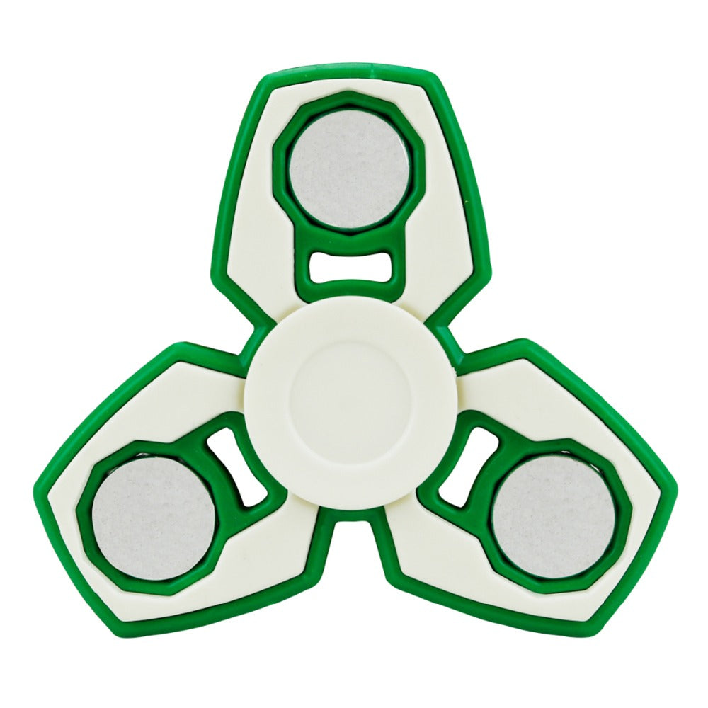 100pcs redom color send hot style plastic multicoloe hand spinner fidget finger relieve anti stress children any time playing