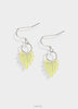 Light sundance earrings with silver