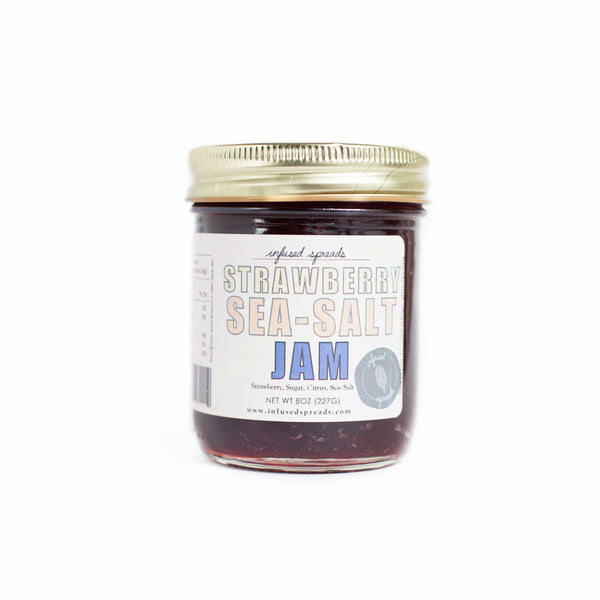 Strawberry Sea-Salt Jam