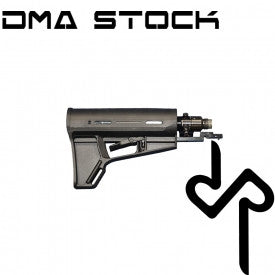 DMA Buttstock with 13ci/3000psi HPA Air Tank