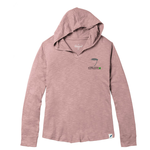 Otherside Ladies Windy Palm Slub Hoody
