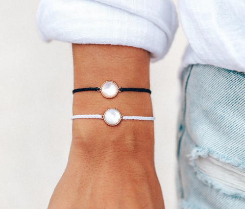 Pura Vida Mother of Pearl Bracelet