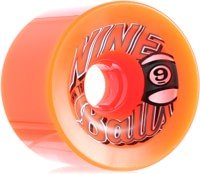 Sector 9 Nineball Wheel 74mm 78a Orange w/ Grey/White