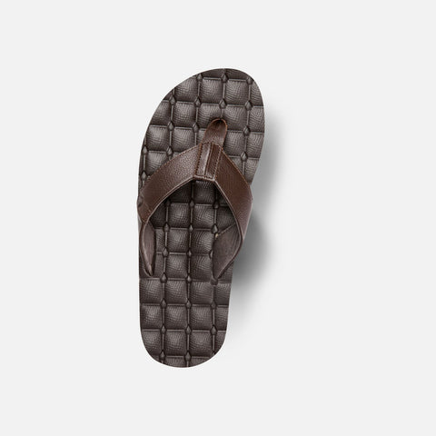 Volcom Recliner Leather Sandal