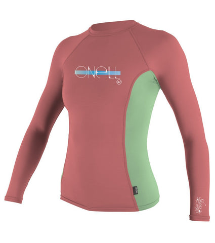 O'neill Girls Premium Long Sleeve Rash Guard