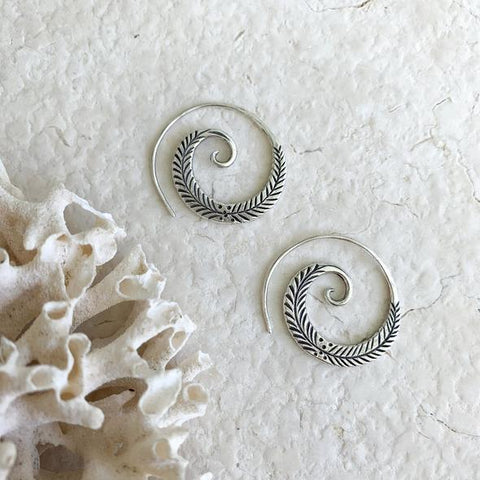 Embella Harper Spiral Earrings