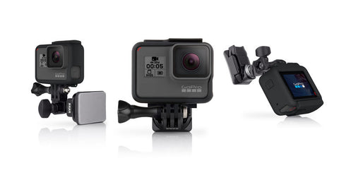 GoPro Helmet Mount for Front & Side