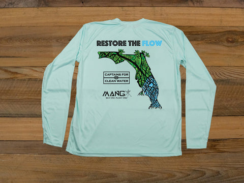 MANG Restore The Flow Men's Performance Long Sleeve