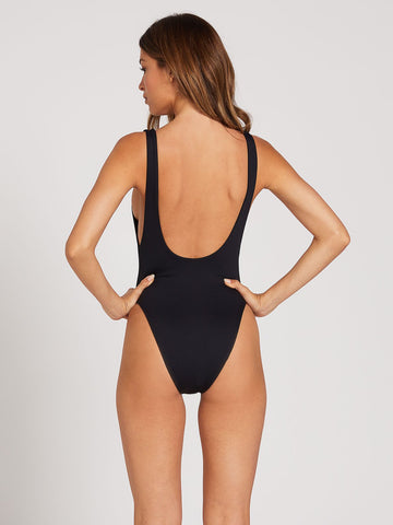 Volcom Simply Seamless One Piece Bathing Suit