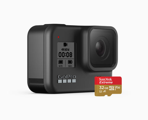 GoPro Hero8 Black with SD Bundle