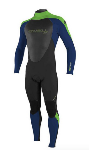 O'Neill Boys Youth Epic 3/2 Back Zip Full Wetsuit