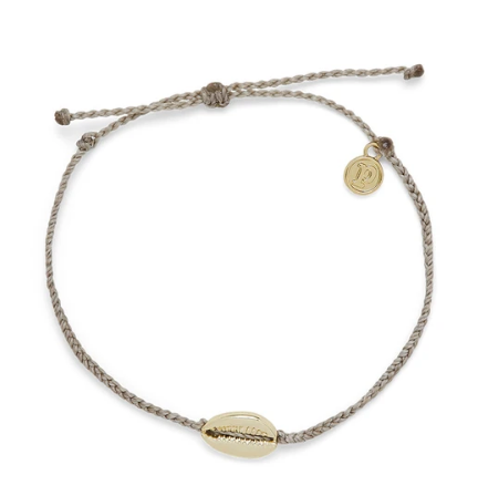 Pura Vida Cowrie Cord Anklet