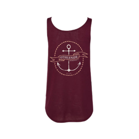 Otherside Ladies Flowy Side Anchor Tank