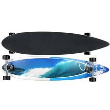 Krown Pin Tail Rip Tide Complete Longboard