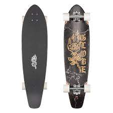 Globe The All Time Black Rose Complete Skateboard