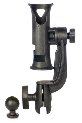 YakAttack Zooka Tube, 1.5 Ball Mount Arm, Includes 1.5 Screwball
