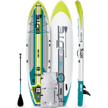 Bote Flood Inflatable Full Trax Lime 11' Paddleboard