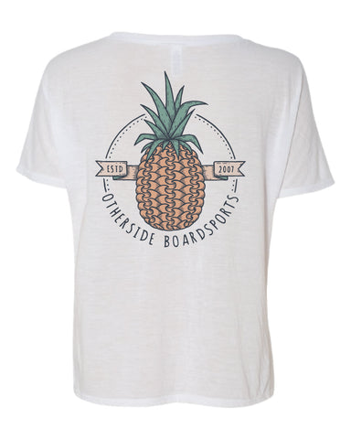 Otherside Pineapple Tee Slouchy V-Neck