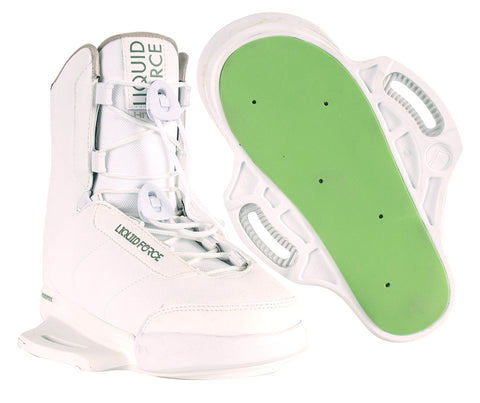 Liquid Force Hitch White Bindings 2019