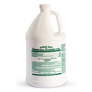 Disinfection Germicidal Cleaner | Strike Bac Germicidal Cleaner 2 oz | Concentrate |Makes 64 gallons Disinfectant | EPA Approved
