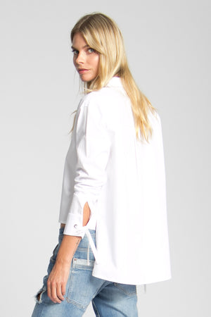 Maggie high-low hem shirt