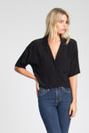 Gibson Boxy Crop Shirt
