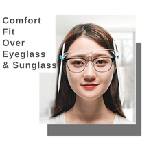 Load image into Gallery viewer, Face Shield | Goggle Shield | 5 Pieces | Reusable | Comfort Fit | Anti-Fog