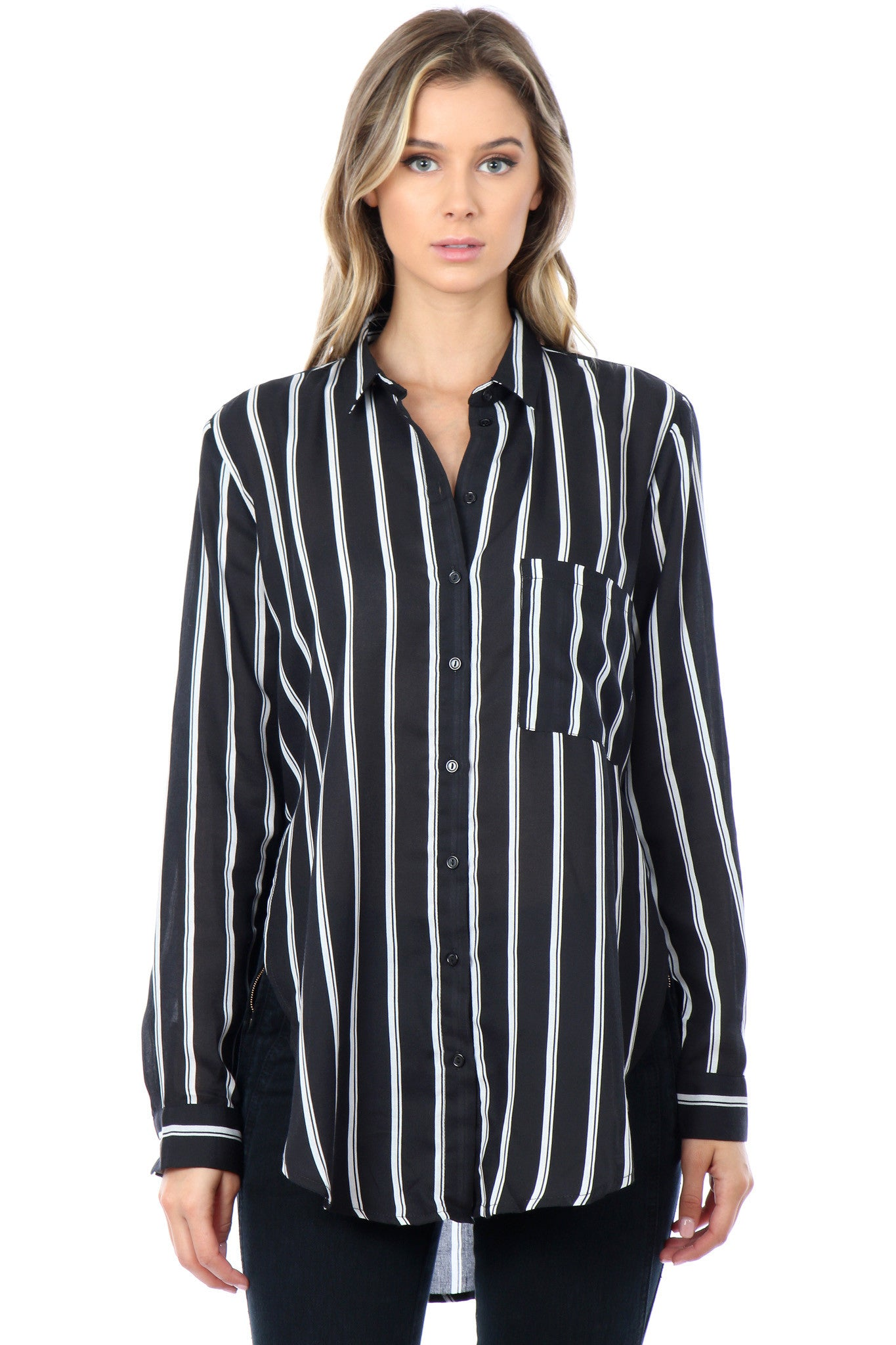 Danielle Stripe Shirt