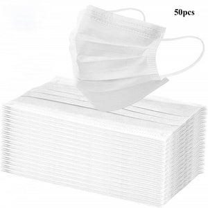 Disposable Face Mask - 50 pieces
