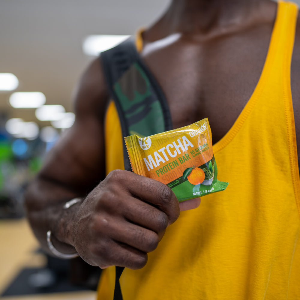 Matcha Orange Almond Protein Bar - 8 Pack