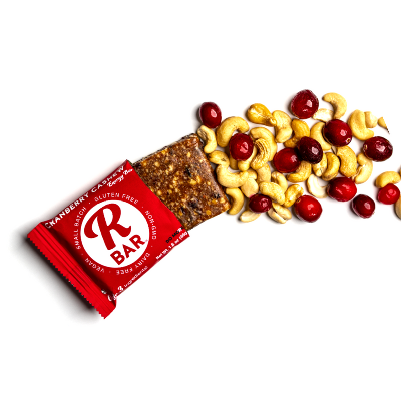 Cranberry Cashew Energy Bar - 10 Pack