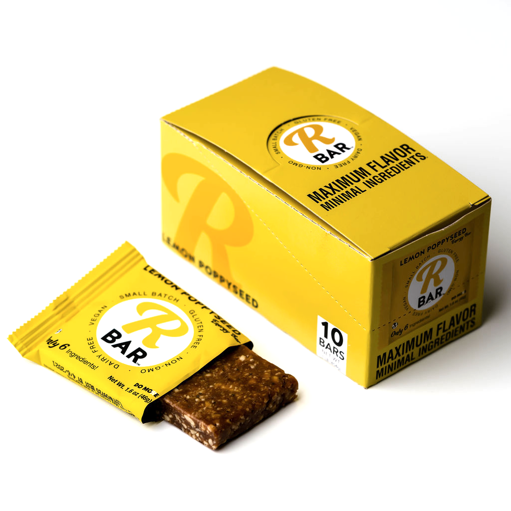 Lemon Poppyseed Energy Bar - 10 Pack