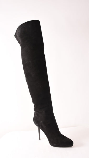 JIMMY CHOO Over-the-Knee Boots | Size 41 - Crave Luxury Consignment  - 1