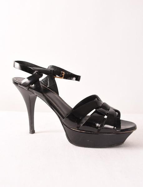 YSL Tribute Sandal | Size 40 - Crave Luxury Consignment  - 1