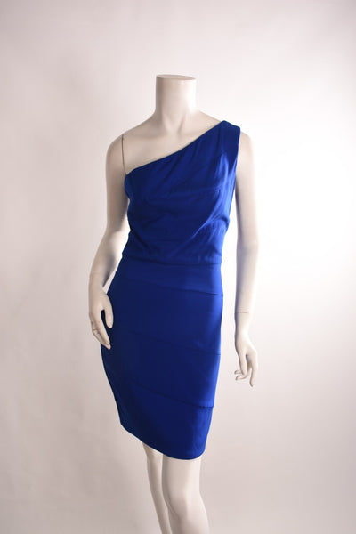 MARIA BIANCA NERO One Shoulder Dress | Size S