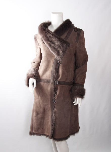 KARL DONOHUE Coat | Size 10 - Crave Luxury Consignment  - 1
