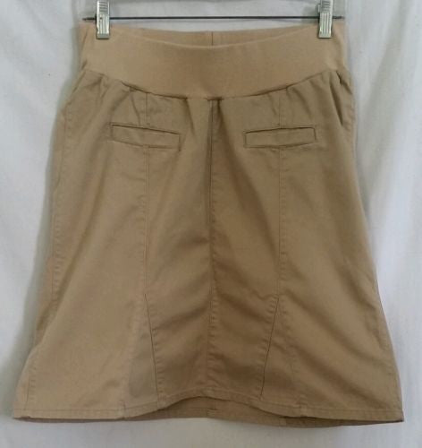 Old Navy Maternity A-line Khaki Skirt