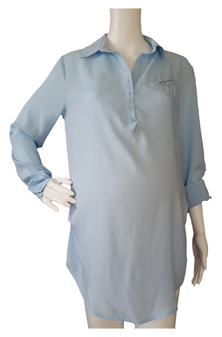 Convertible Sleeve Tunic Top