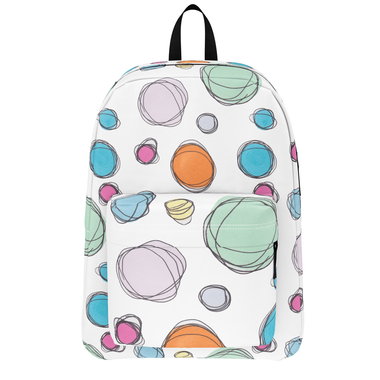 ae83ef1280 Scribble Dots Backpack - Printed Village